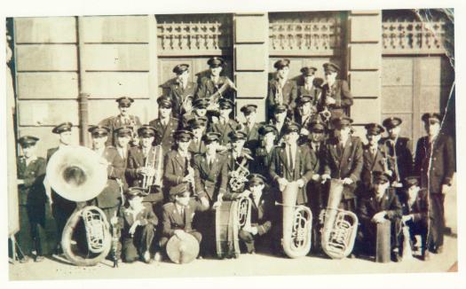 La Banda en 1950